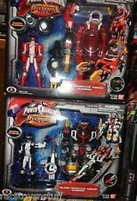RARE POWER RANGERS OPERATION OVERDRIVE RED AND BLACK TRANSTEK ARMOR MACHINES