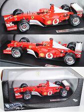 HOT WHEELS 54626 FERRARI f2002 SCUDERIA FERRARI MARLBORO Michael Schumacher 1:18