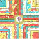 2+RARE+-+5%22+LOVELY+MODA+CHARM+PACKS+%2B+PATTERN+Quilt+KIT+by+Sandy+Gervais+Fabric+