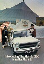 Morris 1300 Traveller Mk III 1971 UK Market Launch Smaller Format Brochure