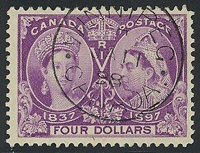 64 - $4.00 Jubilee Used - WOW - Spectacular CHOICE Stamp - 2014 PF Cert