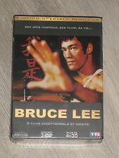 édition spéciale platinium BRUCE LEE coffret 3 DVD (neuf sous blister)
