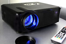 FG-857 Open Box 720P HD LCD LED Video Projector USB/HDM/VGA, Gaming, PC, Movie