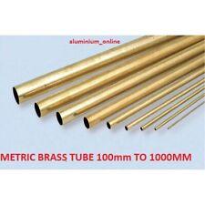 BRASS ROUND TUBE CZ108   5mm 8mm 10mm