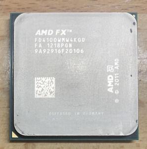 AMD FX-Series FX4100 3.6 GHz Quad-Core CPU Processor FD4100WMW4KGU Socket AM3+