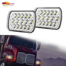 """2PC 7x6""""  LED Projector Headlight Sealed Beam Headlamp DOT Approved FL 50 60 70"""