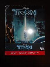 Tron Legacy: German steelbook! 3D! 2D! CODEFREE! NEW!
