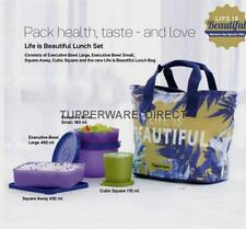 Tupperware Life is Beautiful Lunch Set - Girls Lunch Bag Set - Insulated