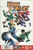 Young Avengers Comic Issue 5 Modern Age First Print Marvel Gillen Norton Wilson