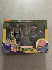 neca tmnt shredder and krang Exclusive Sealed