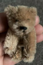 Rare Vintage Miniature Schuco Mohair Caramel Brown Bear 2.5�Jtd Nice