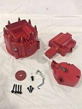 GM HEI Distributor RED cap rotor set SBC BBC 50K or 65K volt Chevy NEW Set Kit