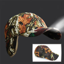 Sports Hunting Camping Fishing 5-LED Light Cap Beanie Hat with 2 Batteries