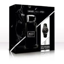DANIEL HECHTER Coffret Homme Black, Eau de Toilette 100 ml + Montre griffée DANI