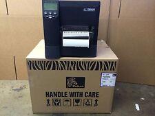 Zebra ZM600 THERMAL BARCODE  Printer (ZM600-2001-0300T) ! Warranty Good Working