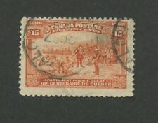 1908 Canada Champlain's Departure for the West 15c Postage Stamp #102 Value