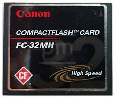 CompactFlash * 32 MB * Canon High Speed (FC-32MH)