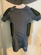Nike Pro Combat boys high performance gray football shirt L