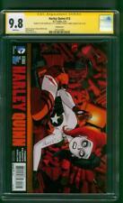 Harley Quinn 13 CGC 3XSS 9.8 Darwyn Cooke Variant Conner Palmotti Hardin Movie