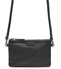 Mimco CLASSICO SMALL Pouch Black Gunmetal Cross Body Bag Authentic BNWT RRP99.95