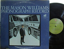 """Mason Williams - Phonograph Record  (olive W.B. 1729) (with """"Classical Gas"""")"""