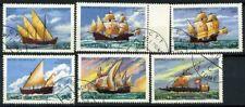 San Tommaso e il principe Isole 1979 Mi. 598-603 Usato 100% Barche Barche a vela