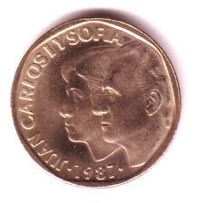ESPAÑA: 500 pesetas 1987 Calidad S/C  Reyes de España  Juan Carlos y Sofia