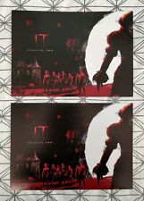 2x IT Chapter Two ODEON A4 Poster 1 of 2: Stephen King, Pennywise