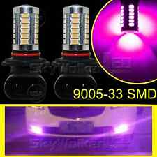 2pcs Purple 9005 HB3 33SMD 5730Chip 9140 LED For Car Fog Light Truck Bulbs Lamp