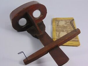 Antique Stereoscope 3D Stereo Viewer With 5 Picture Cards