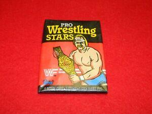 1985 Topps WWF Pro Wrestling Stars Unopened Wax Pack - RARE!!!