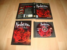 Nosferatu anger of malaquias for pc with manual on disk used