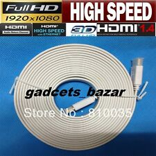 High Speed Flat 10M HDMI 30 ft 1080P Cable v1.4 LCD TV PC Laptop 10 Meter v1.4a