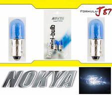Nokya Light Bulb BA9s White 8W Nok5217 Interior Turn Signal Corner Gauge Panel