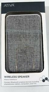 Ativa Wireless Speaker - Gray