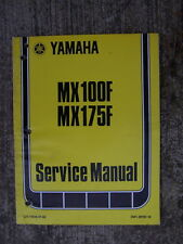 1978 Yamaha MX100F MX175F Motorcycle Bike Service Manual MORE CYCLE IN STORE  L