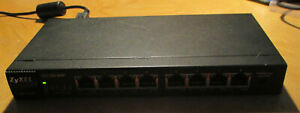 ZyXEL GS1100-8HP 8 Port GBE Unmanaged POE Switch includes PSU