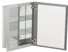 Kohler 16 in. W x 20 in. H x 5 in. D Aluminum Recessed Medicine Cabinet