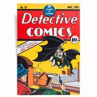 Batman Detective DC Comics #27 May 1939 Reprint Embossed Metal Sign 8 x11 3/4""