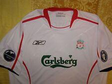 """Fowler 11 Liverpool 2005 - 2006 away shirt Champions League Winners """"XL"""" jersey"""