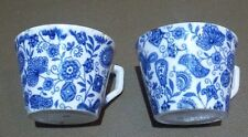 Very Old Antique Blue and White Porcelain or Ceramic Cups
