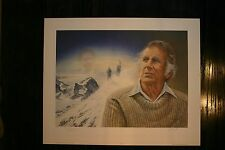 Mount Everest James Lumbers Signed & Numbered Limited Sir Edmund Hillary