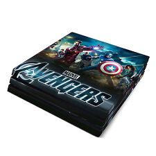 Sony PS4 Pro Skin Decal Sticker Vinyl Wrap Avengers Super Hero