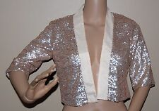 $150 KEEPSAKE ALL the Lights Cropped Jacket Evening Formal Holiday XS