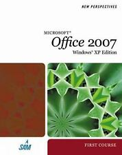 NEW Computer BOOK MS OFFICE 2007 WINDOWS XP EDITION FIRST COURSE 2008 New Prsptv