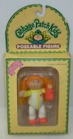 Vintage 1980s Cabbage Patch Kids Poseable Action Figure Toy Red Head Girl MIB