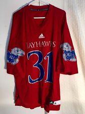 Adidas NCAA Jersey Kansas Jayhawks #31 Red sz L