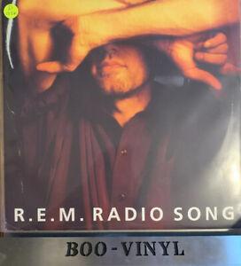 "R.E.M -RADIO SONG -RARE 12"" Promo Indie  Rock Vinyl Record Ex"