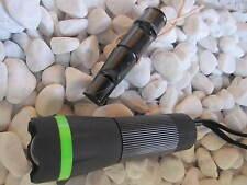 HERBERTZ Hundepfeife Büffelhorn Triller Pfiff Pfeife + Focous Taschenlampe Lampe