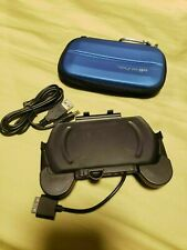 PSP Go Blue Case and Rechargeable PSP Hand Grip (Super Rare Collector's Item)